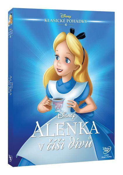 Alenka v říši divů S.E. (Edice Disney klasické pohádky) - DVD