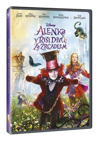 Alenka v říši divů: Za zrcadlem - DVD