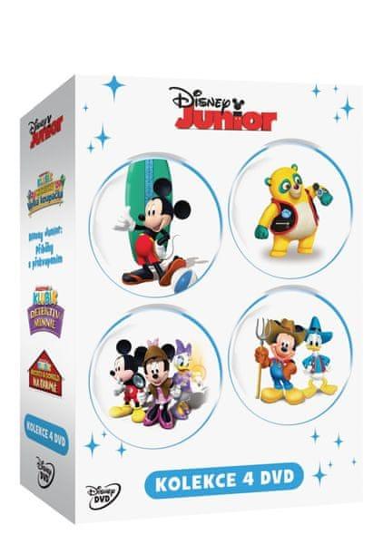 Kolekce Disney Junior (4DVD) - DVD