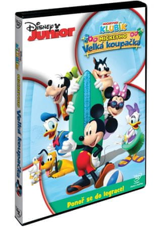 Disney Junior: Mickeyho velká koupačka    - DVD