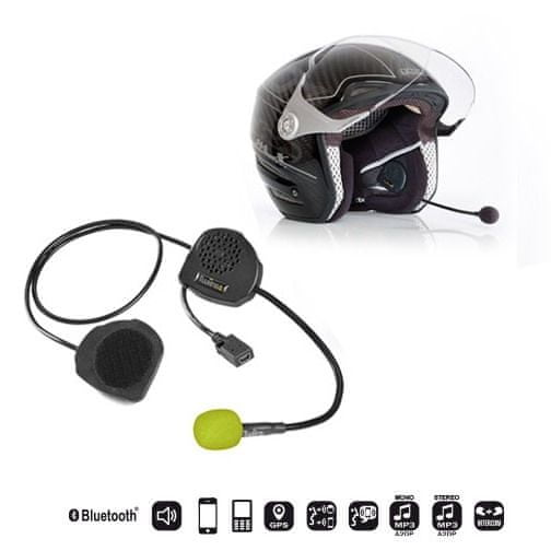 Twiins interkom na motocykl TWIINS D3 pro otevřené přilby