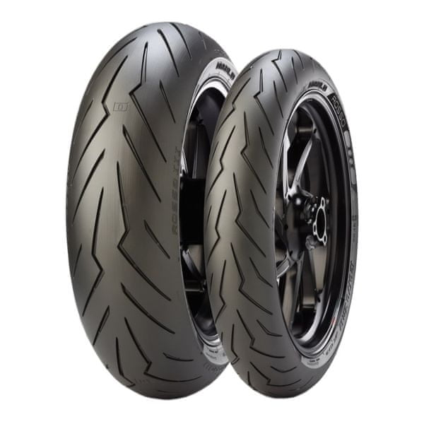 Pirelli diablo Strada 120/70 ZR 17 M/C (58W) TL + 180/55 ZR 17 M/C (73W) TL