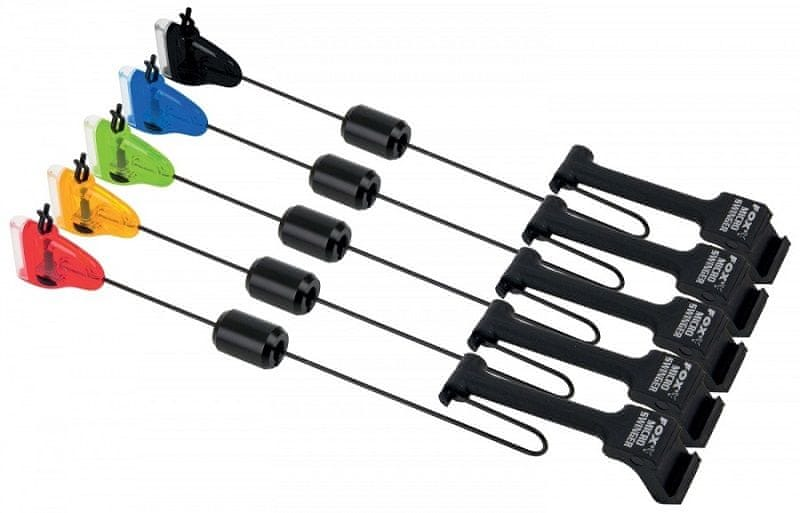 Fox Micro Swinger 4 Rod Set red, orange, green, blue