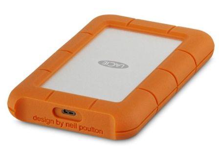"LaCie zunanji disk Rugged 1TB, 6,35cm (2,5""), USB-C 3.1"