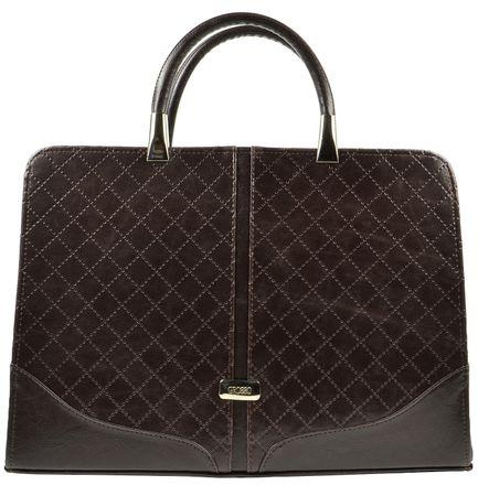 GROSSO BAG ženska ročna torbica rjava
