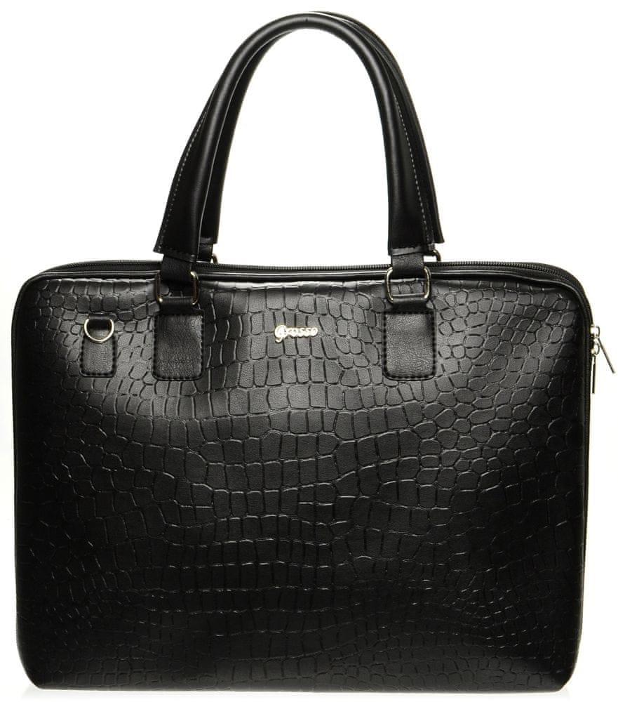 aff3e00a7b08 GROSSO BAG női kézitáska fekete - További információ a termékről ...