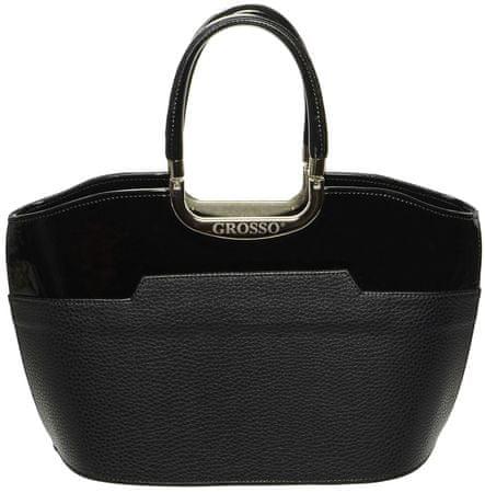 GROSSO BAG černá kabelka - Parametry  de169e9a450