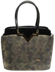 GROSSO BAG ženska ročna torbica črna
