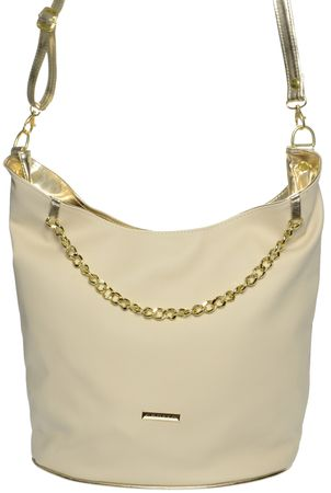GROSSO BAG ženska torbica krem