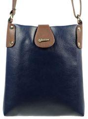 GROSSO BAG dámská tmavě modrá crossbody taška