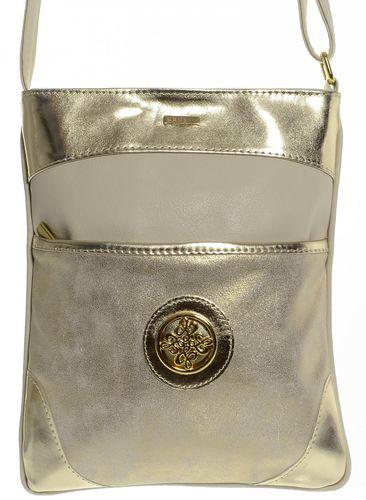 f51362aff6 GROSSO BAG dámská zlatá crossbody taška - Parametry