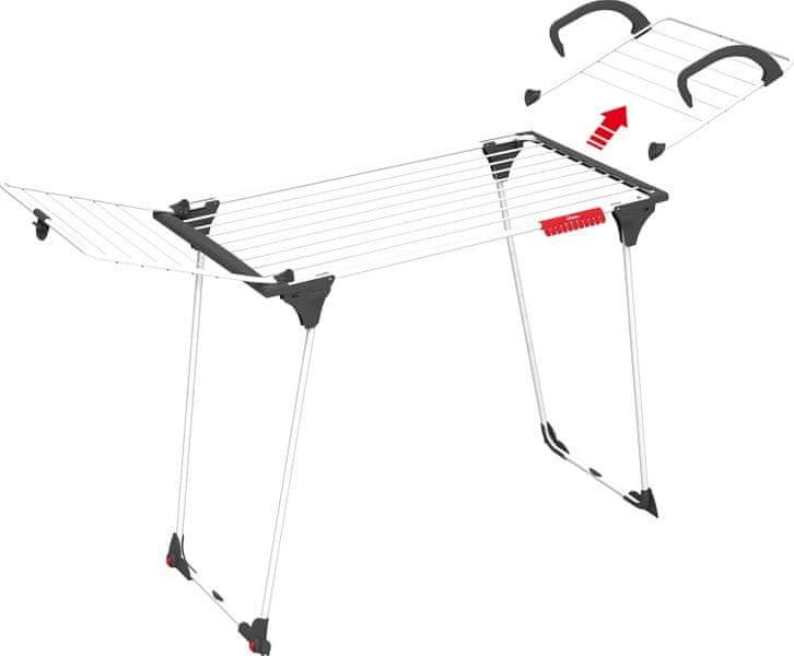 Vileda Sušák na prádlo Premium 2in1 18 m
