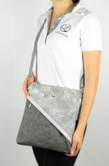 GROSSO BAG ženska torbica srebrna