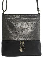 GROSSO BAG dámská černá crossbody taška