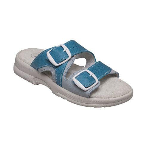 SANTÉ Zdravotní obuv dámská N/517/55/087/016/BP tyrkysová (Velikost vel. 41)