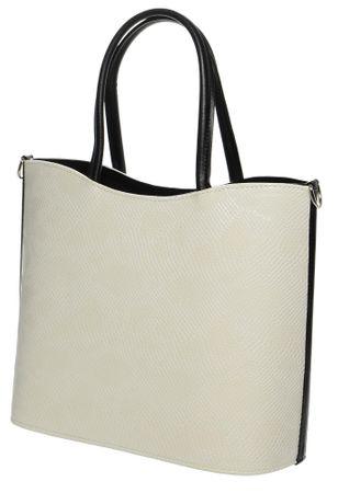 GROSSO BAG béžová kabelka - Parametry  1895a0d01be