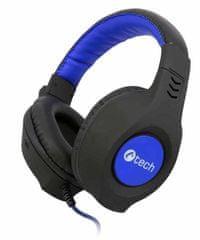 C-Tech słuchawki Nemesis V2 (GHS-14B), czarno-niebieskie