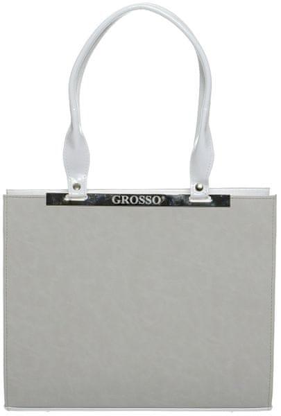 GROSSO BAG bílá kabelka