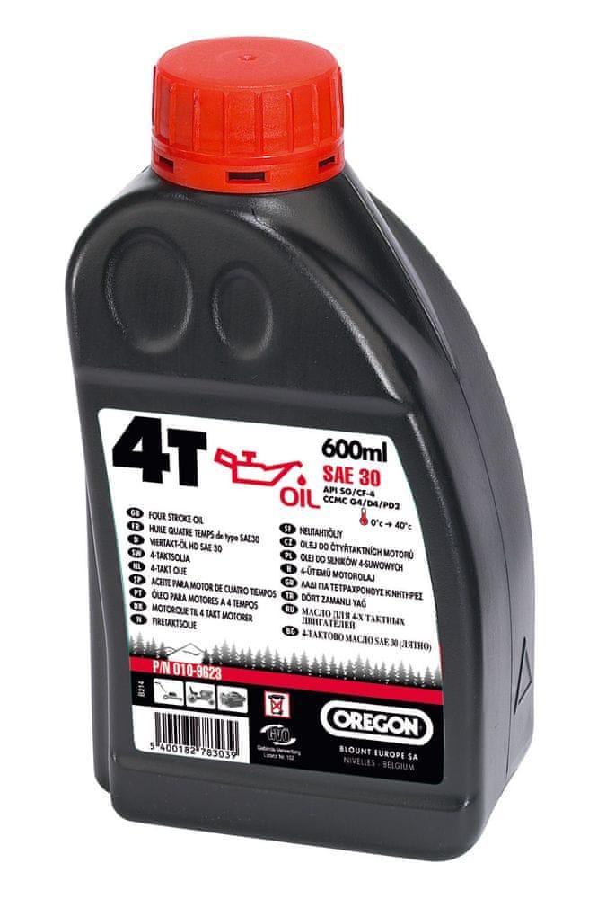 Oregon Motorový olej 4T SAE 30, 600 ml