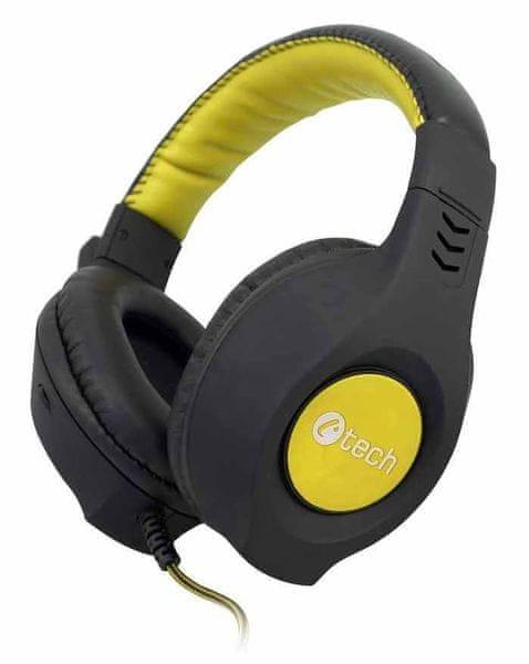 C-Tech Nemesis V2 (GHS-14Y), černo-žlutá