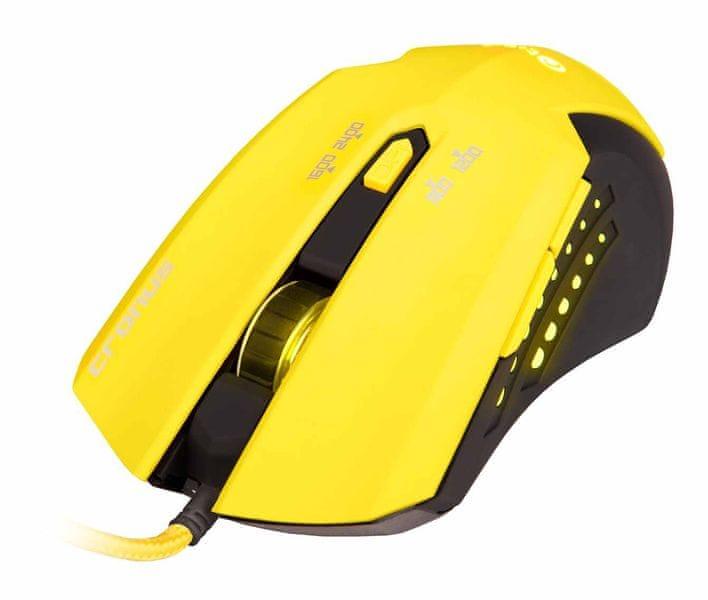 C-Tech Cronus (GM-02Y), černo-žlutá