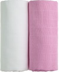 T-tomi TETRA ręcznik EXCLUSIVE COLLECTION White + Pink