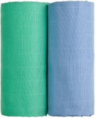 T-tomi TETRA ręcznik EXCLUSIVE COLLECTION Blue + Green