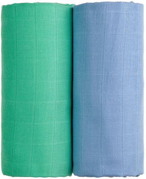 T-tomi TETRA osušky EXCLUSIVE COLLECTION 2ks, modrá + zelená