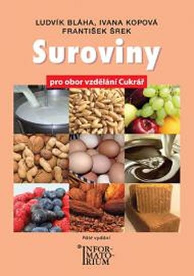 Bláha Ludvík a kolektiv: Suroviny pro UO Cukrář