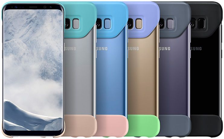 Samsung Dvoudílný ochranný kryt (Samsung Galaxy S8 Plus), fialová