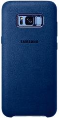 SAMSUNG Alcantara tok (Samsung Galaxy S8 Plus), kék