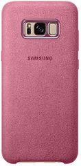 Samsung Kryt Alcantara (Samsung Galaxy S8 Plus), růžová