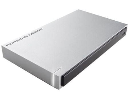 "LaCie trdi disk 1 TB Porsche Design USB 3.0, 6,35cm (2,5"")siv"