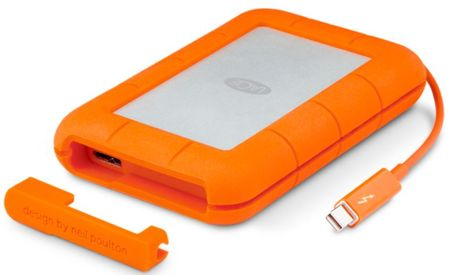 "LaCie zunanji disk Rugged 1 TB, 6,35cm(2,5""), Thunderbolt, USB-C 3.0"