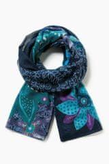 Desigual dámský modrý šátek Foulard
