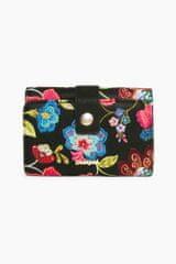 Desigual dámská černá peněženka Caribou Lengüeta S