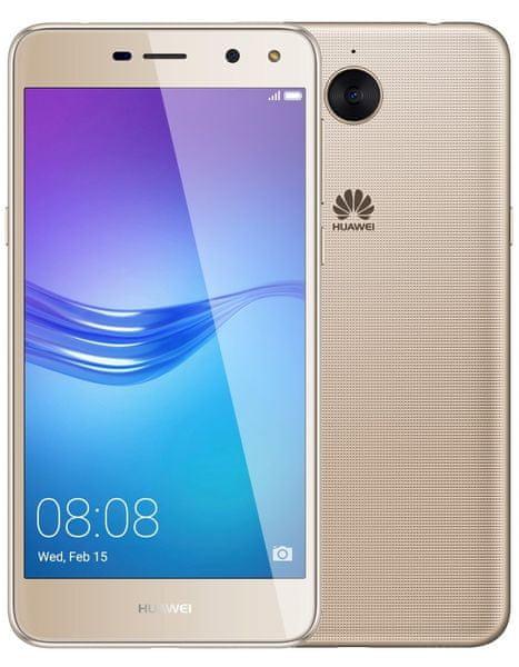 Huawei Y6 2017 , DualSIM, zlatý