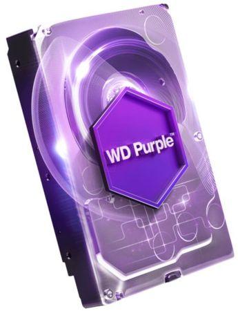 WD trdi disk Purple 8TB, SATA3, 6Gb/s, 5400, 128MB, (WD80PURZ)