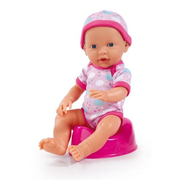 Zapf Creation Čůrající miminko Piccolina - II. jakost