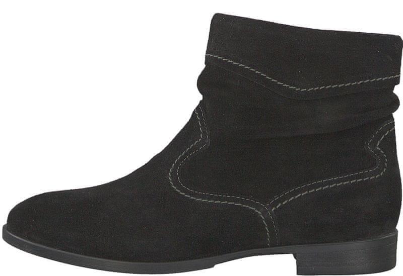 Tamaris dámská kotníčková obuv 36 černá