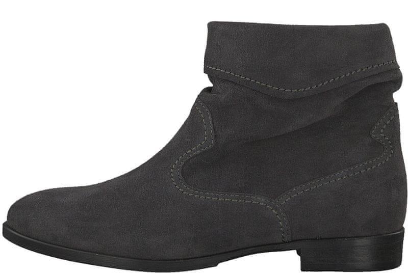 Tamaris dámská kotníčková obuv 36 šedá