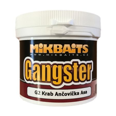 Mikbaits trvanlivé těsto Gangster 200g krab&ančovička&asa