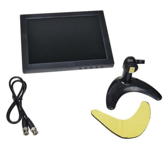 """Nadzorni video LCD monitor 25,4 cm (10""""), BNC/AV/VGA/HDMI"""