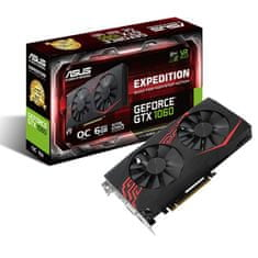 Asus grafička kartica GeForce GTX 1060 Expedition OC 6GB GDDR5 (EX-GTX1060-O6G)