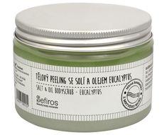 Sefiros Tělový peeling se solí a olejem Eucalyptus 300 ml