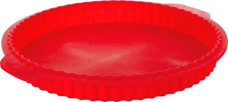 Banquet Forma na koláč silikonová Culinaria Red