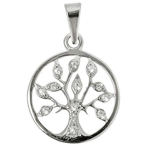 Troli Stříbrný přívěsek Strom života s krystaly 446 001 00356 04