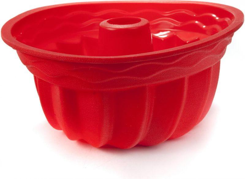 Banquet Silikonová forma na bábovku Culinaria Red 24 cm