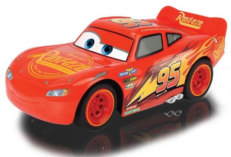 Dickie RC Cars 3 Turbo Racer Blesk McQueen 1:24, 17 cm, 2 kanály
