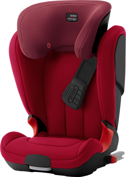 Römer KIDFIX XP Black 2017, Flame Red